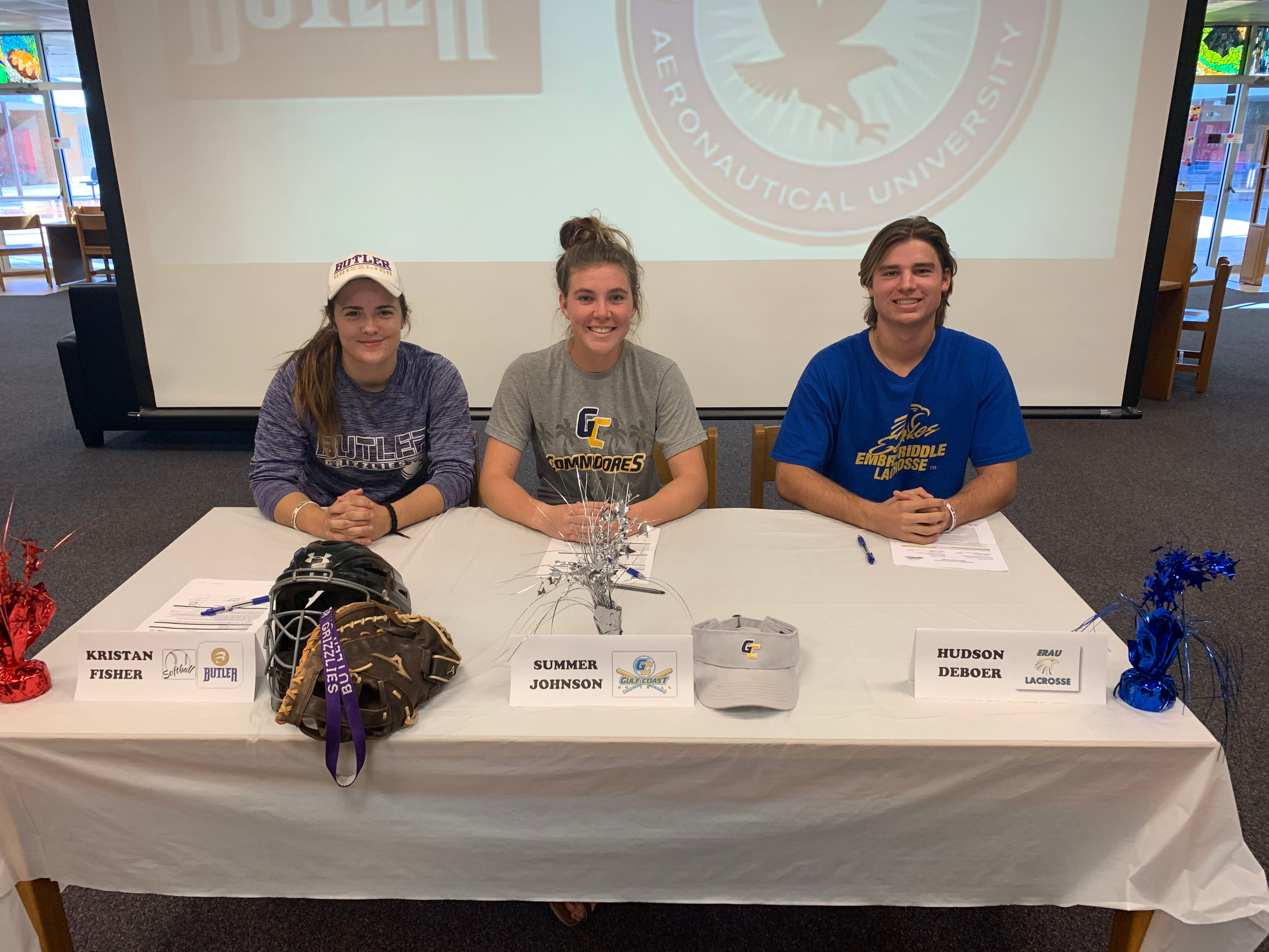 Signing day at Cocoa Beach
