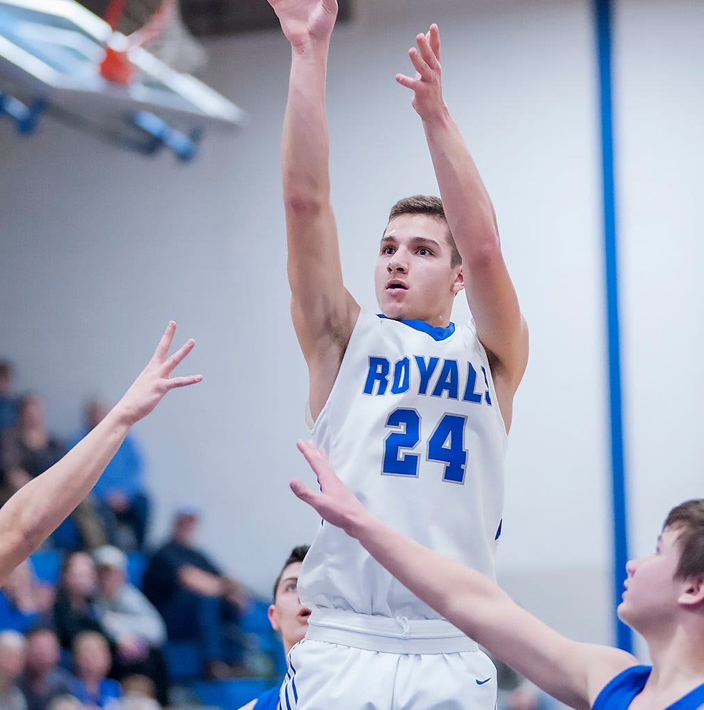 Wynford's Josh Crall named Telegraph-Forum's boys basketball player of the year