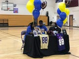 Area football players talk about their college choices on National Signing Day 2019. READ ABOUT IT: https://bit.ly/2TzonoX