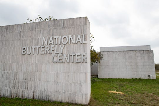 The National Butterfly Center in Mission, Texas on Wednesday Feb. 6, 2019. The center will have about 70 percent of its property cut off by the proposed border wall along the levee in the area.