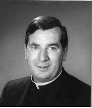 The Rev. Hugh Clarke was accused of assaulting young boys while he was pastor at Christ the King Church in the 1970s.