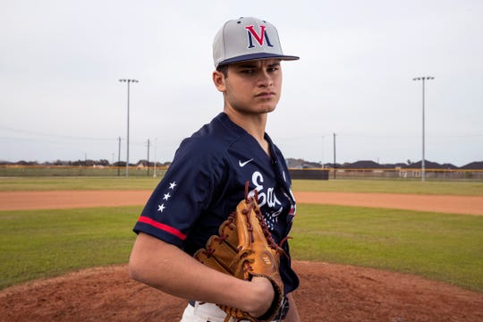 JoJo Villarreal, Veterans Memorial High School baseball player.