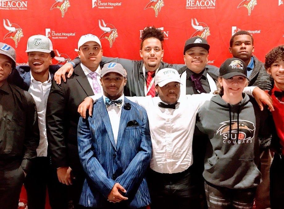 Princeton athletes signed to play college athletics Feb. 6.