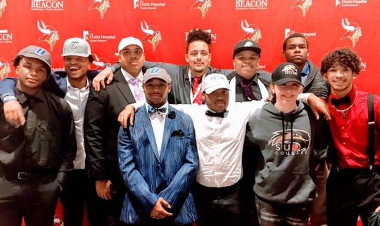 Princeton athletes signed to play college athletics Feb. 6.
