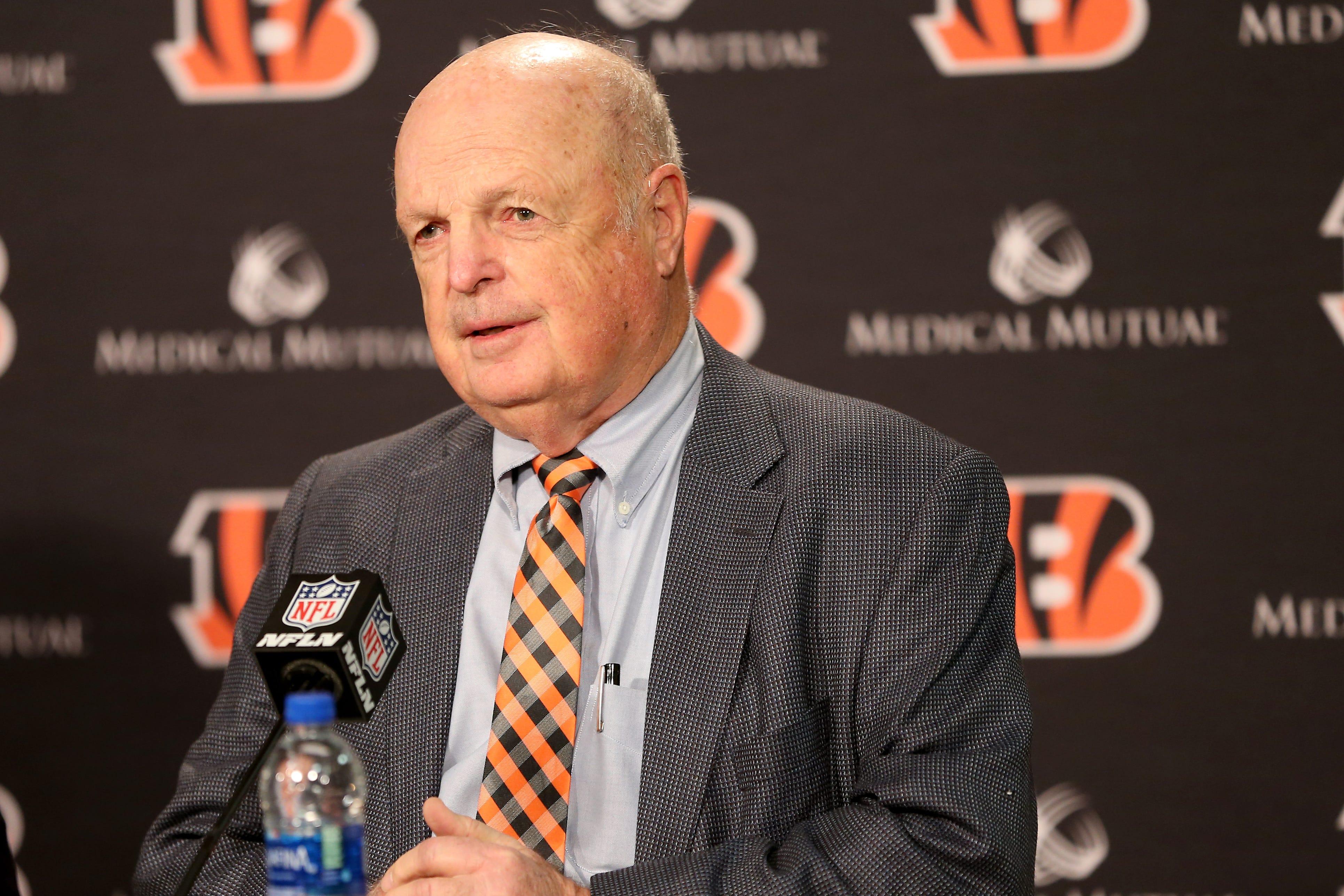 5 things Cincinnati Bengals owner Mike Brown said at NFL annual meetings