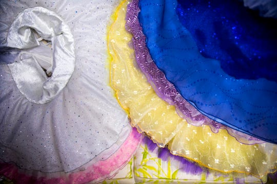 Each hand-sewn tutu in The Sleeping Beauty can take between 40 and 120 hours to build, according to the Cincinnati Ballet Wardrobe Mistress Diana Vandergriff-Adams.