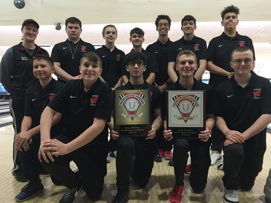 Woodbridge won the 2018-19 GMC boys  bowling tournament title