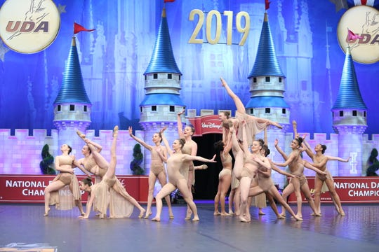 The Jersey Girls All Star Dance Team from Middlesex competed at the 2019 National Dance Team Championships.