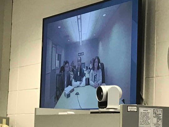 Ruthann Veal, 40, was interviewed by the Iowa Board of Parole on Wednesday, Feb. 6, 2019. The board denied her parole. Veal is serving a life sentence after being convicted at age 14 for a 1993 murder.