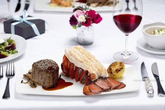 Fleming's Prime Steakhouse will have a special 3-course menu for Valentine's Day.