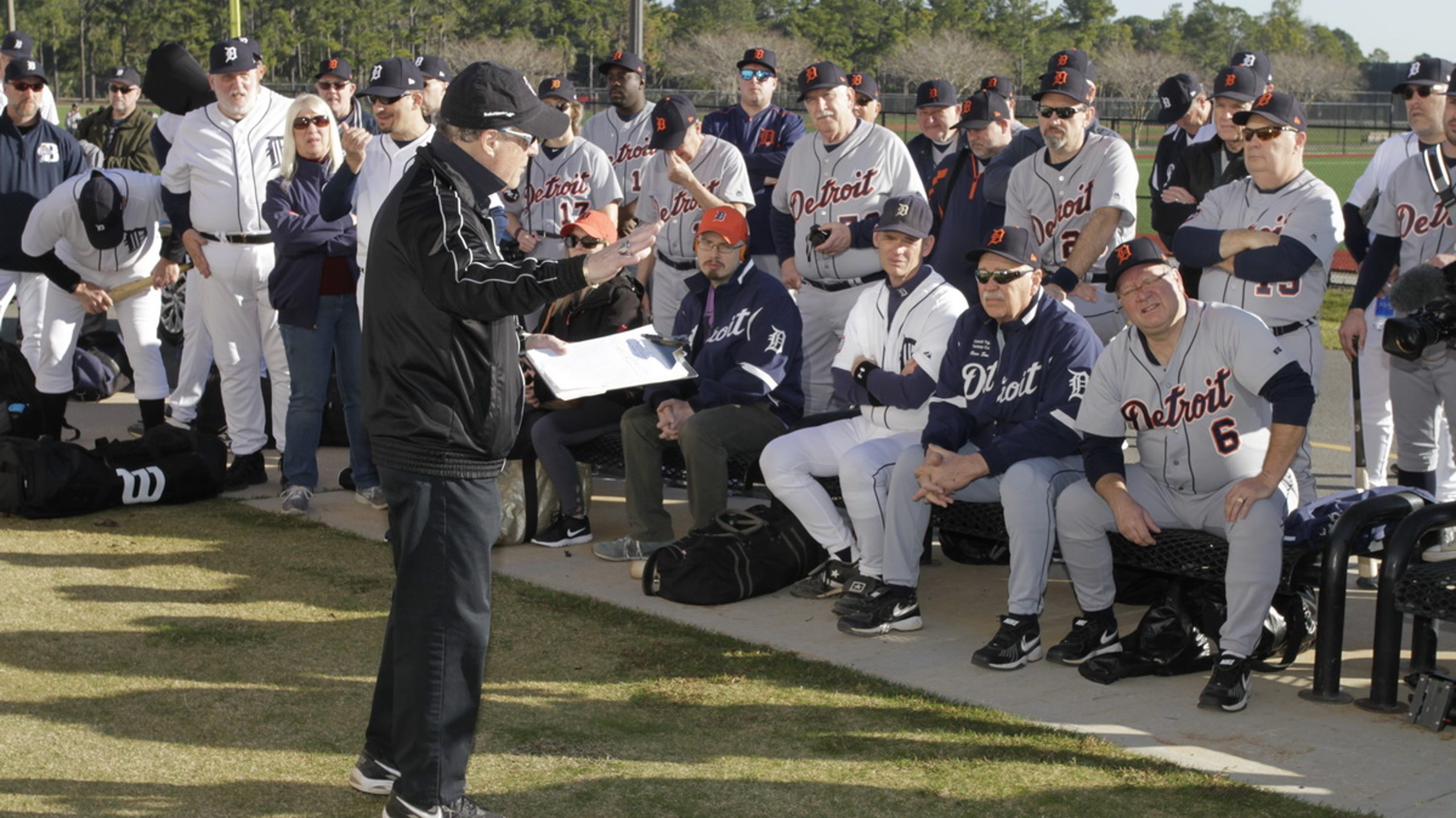 b360f6bbda3 I went to Detroit Tigers fantasy camp. The people are better than my  fastball