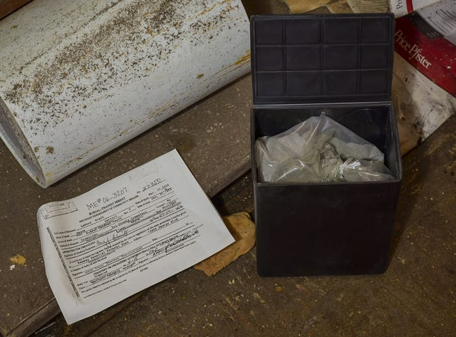 Detroit police checking for more abandoned cremated remains