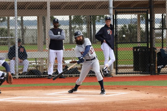 Scott Padden participated in his first Detroit Tigers fantasy camp this January in Lakeland, Fla.