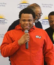 Central High School's Victor Nelson Jr. will be attending Saginaw Valley State University.