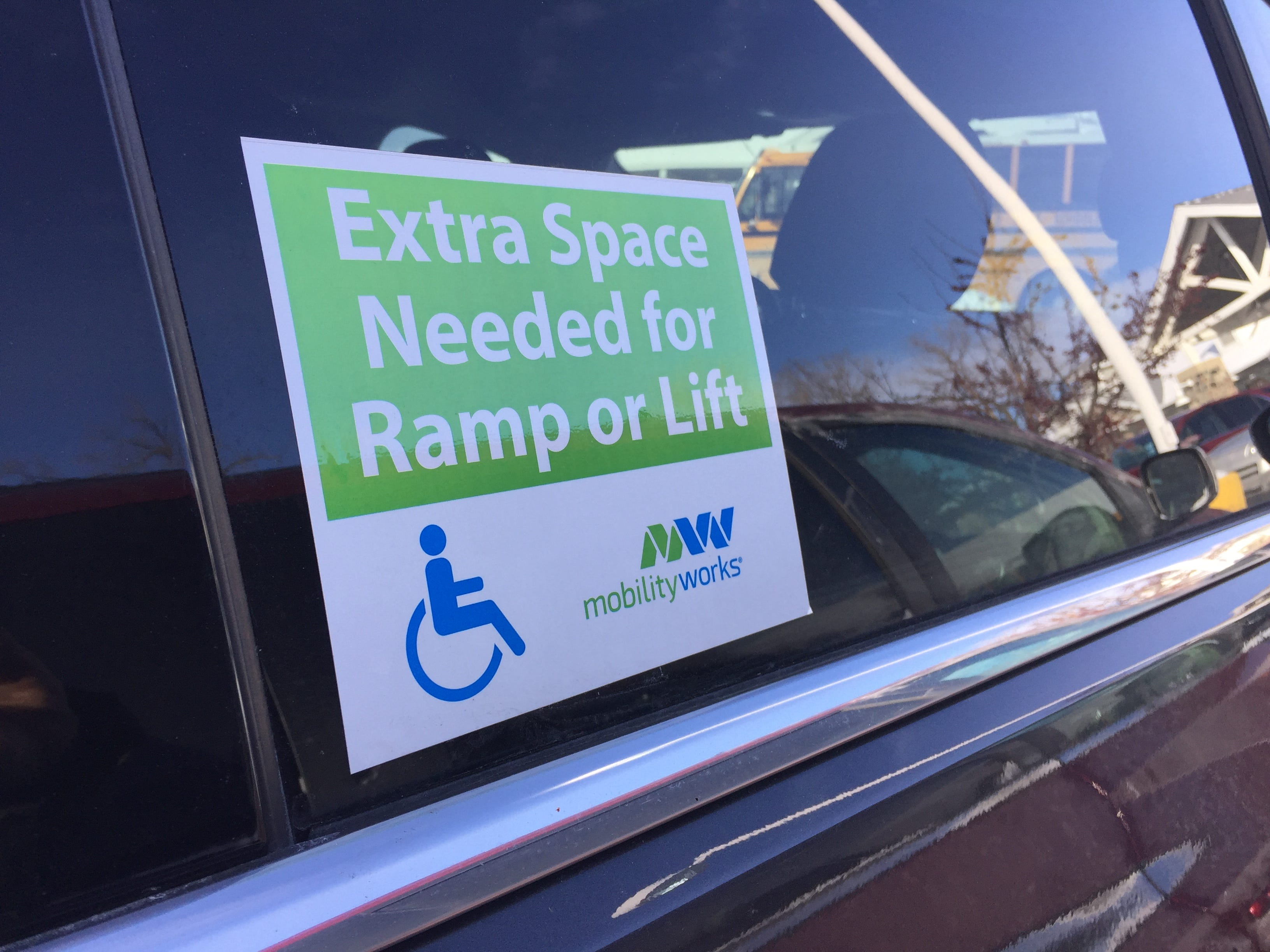 Next time you consider parking in a handicapped spot, don't.