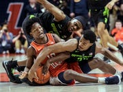 Michigan State's loss to Illinois on Wednesday night was the Spartans' third straight.