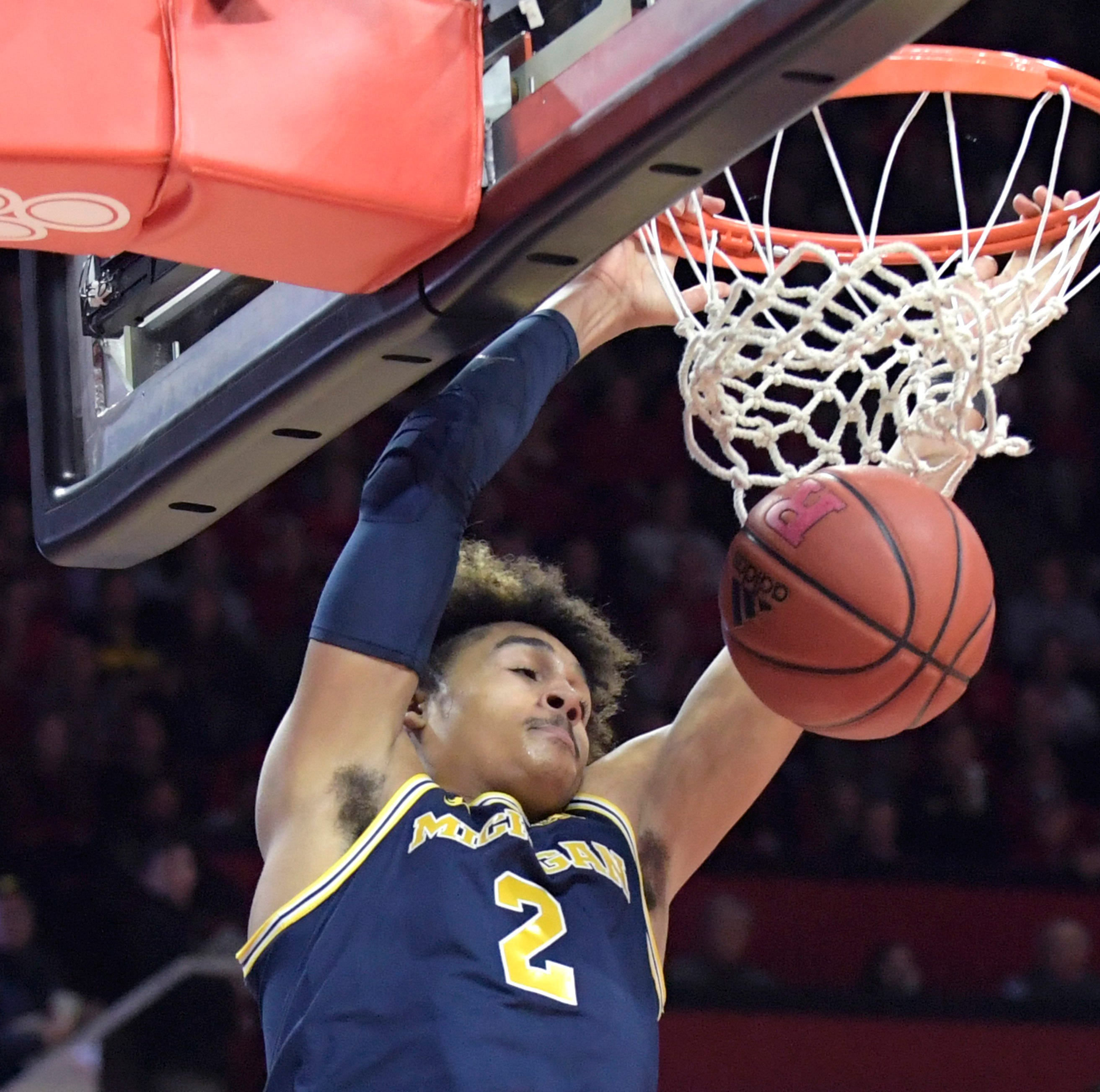UM's Jordan Poole has his share of doubters, but Jalen Rose isn't one of them