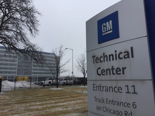 At the General Motors Co. Tech Center in Warren, 1,300 employees are being laid off as part of a restructuring eliminating 4,000 white-collar jobs.