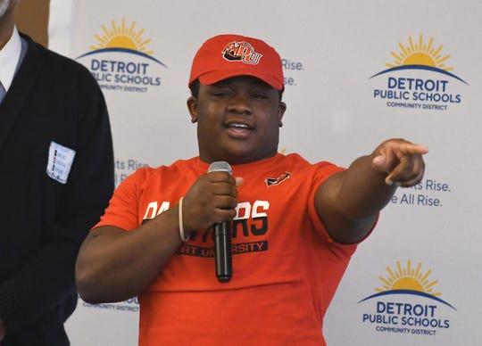 Martin Luther King Jr. High School's Lorenzo White Jr. will be attending Davenport University.