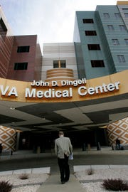 A Bloomfield Hills man is being accused by federal authorities of defrauding the government for work done on Veterans Administration medical centers in Detroit, Cleveland and Ann Arbor.