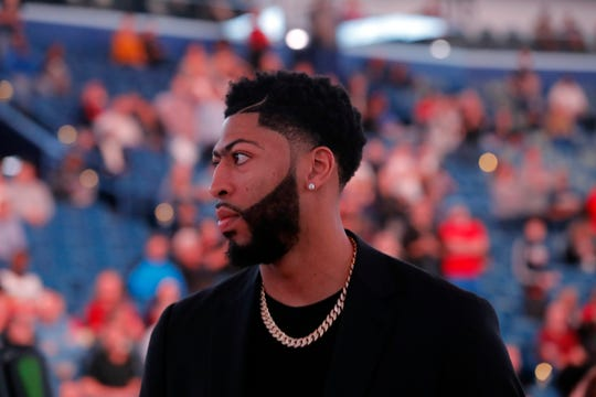Pelicans forward Anthony Davis won't be headed to the Lakers.