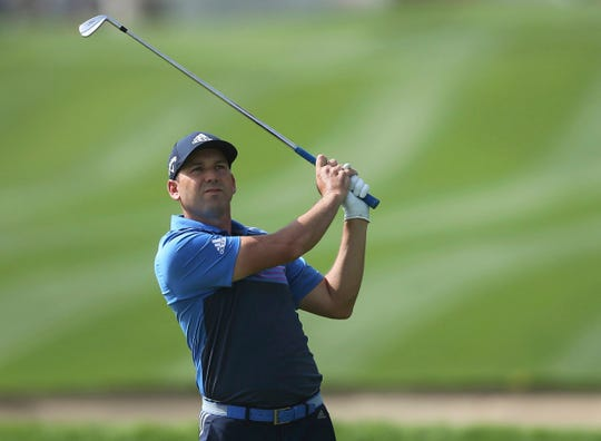 Sergio Garcia was disqualified from a European Tour event for a tantrum during which he damaged the greens.
