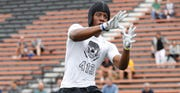Receiver Tre'Von Morgan signed his letter of intent with Michigan State on Wednesday.