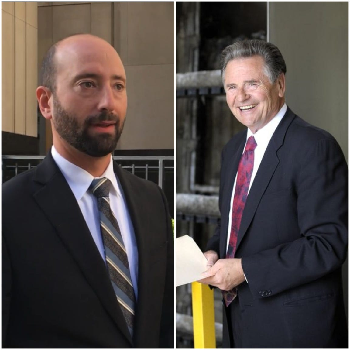 Gabe Leland, left, and Anthony Marrocco