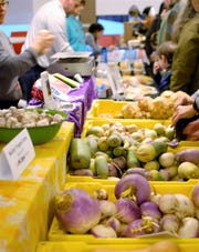 The Taste FLXpo on Feb. 22 at Corning Community College will feature fresh produce and other farm items from the Finger Lakes Region.
