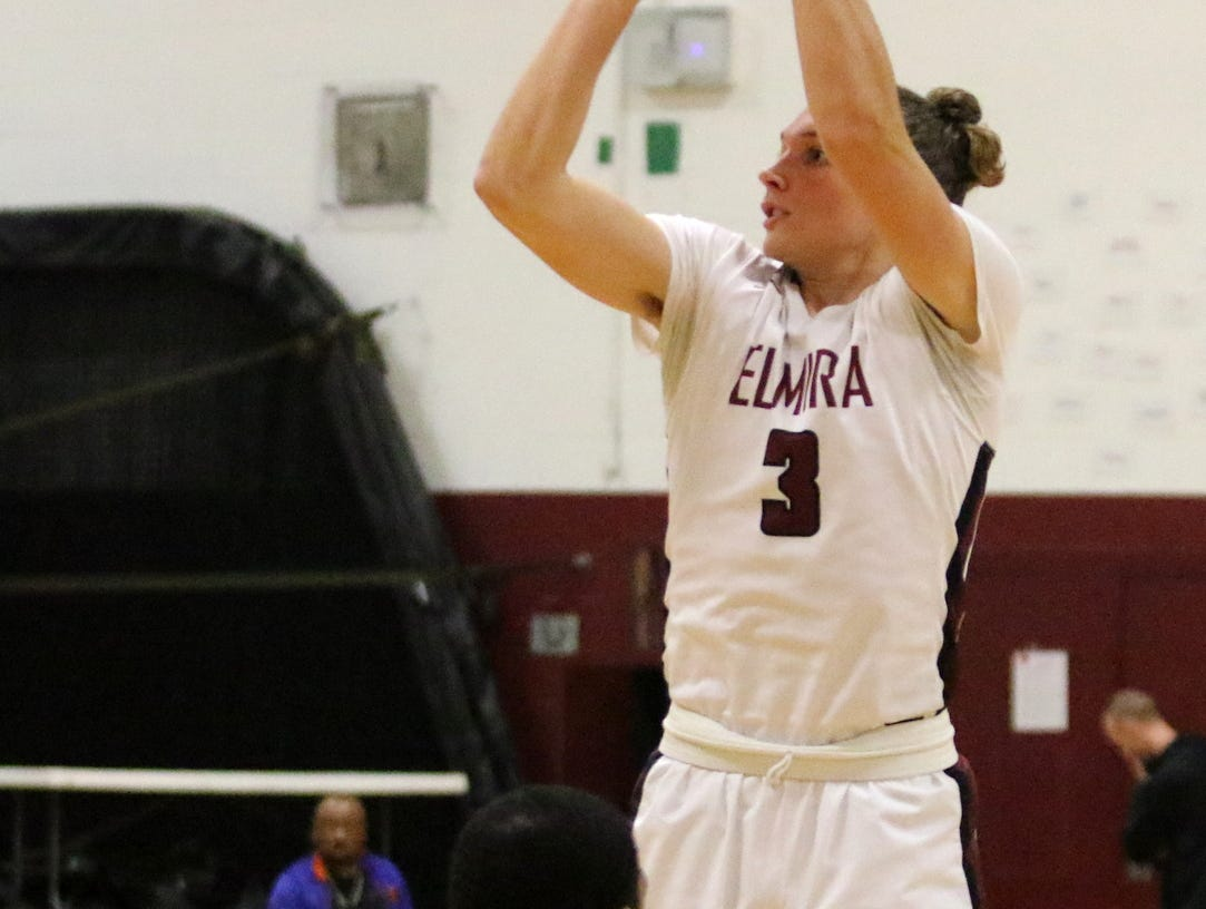 Action from the Elmira boys basketball team's 58-48 win over Binghamton on Feb. 5, 2019 at Elmira High School.