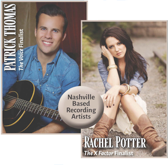 Patrick Thomas and Rachel Potter are starring with the Evansville Philhamronic Orechestra in Saturday's Country Legends.