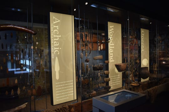 The Oshkosh Public Museum's People of the Waters exhibit includes fishing and spearing artifacts from Native American tribes in Wisconsin including the Menominee.