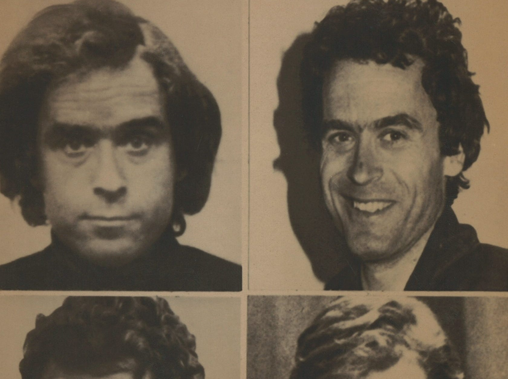 During his 1974 to 1978 killing spree, Ted Bundy was known to change his appearance and elude law enforcement.