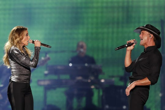 Tim McGraw & Faith Hill's sold-out Soul2Soul Tour at the Resch Center in July was one of the events that helped the arena sell 89,620 tickets from November 2017 to November 2018, earning it a ranking of No. 157 on Pollstar's list of top 200 arenas in the world.