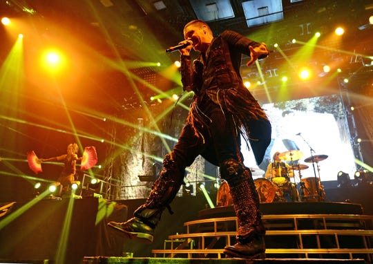 Shinedown's concert on March 9 at Brown County Veterans Memorial Arena is sold out.