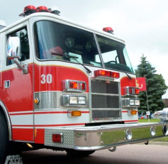 Door County fire departments battle two fires; Schartner's Farm Market barn destroyed