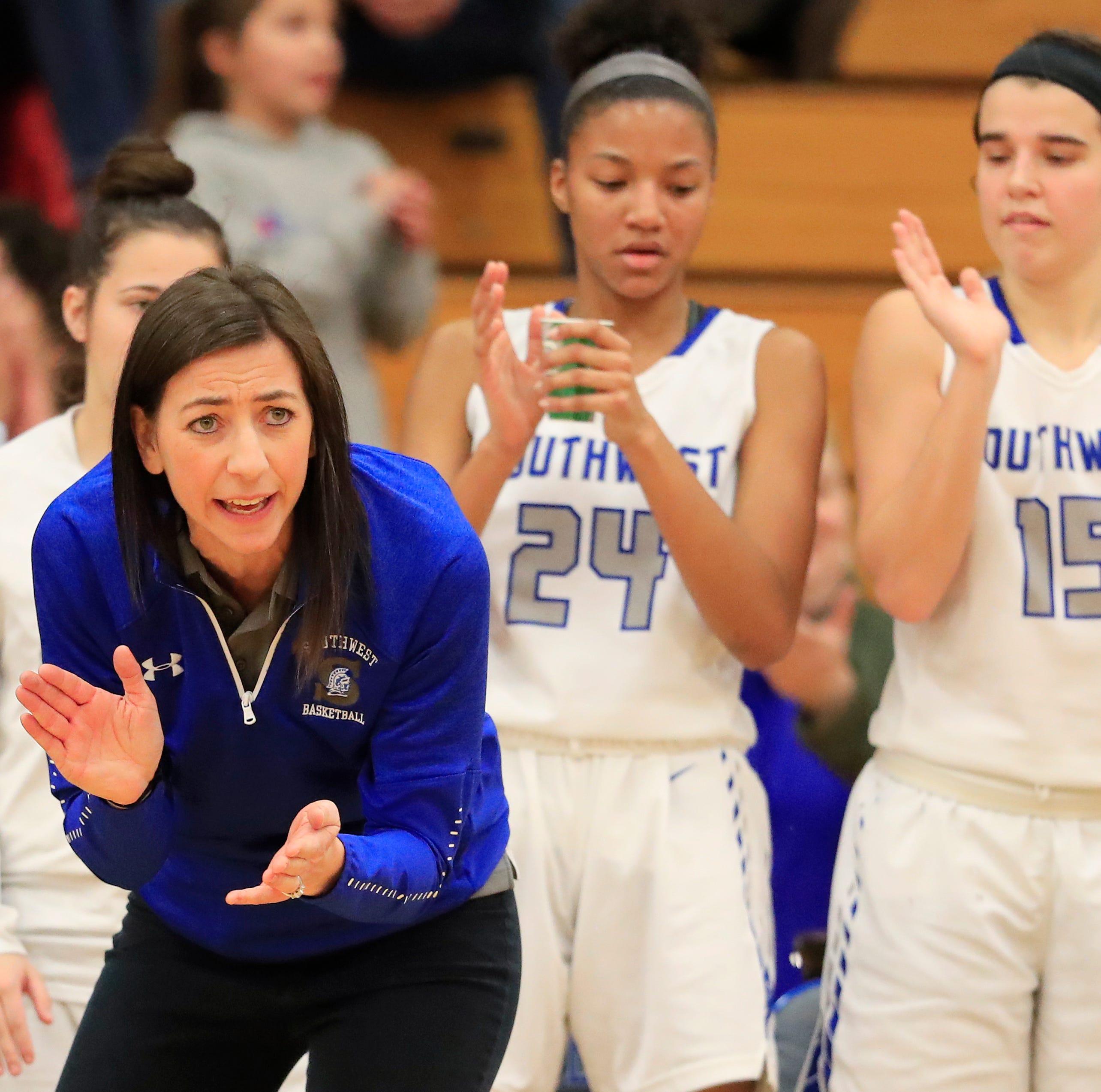 Erin Barkley steps down as Southwest girls basketball coach