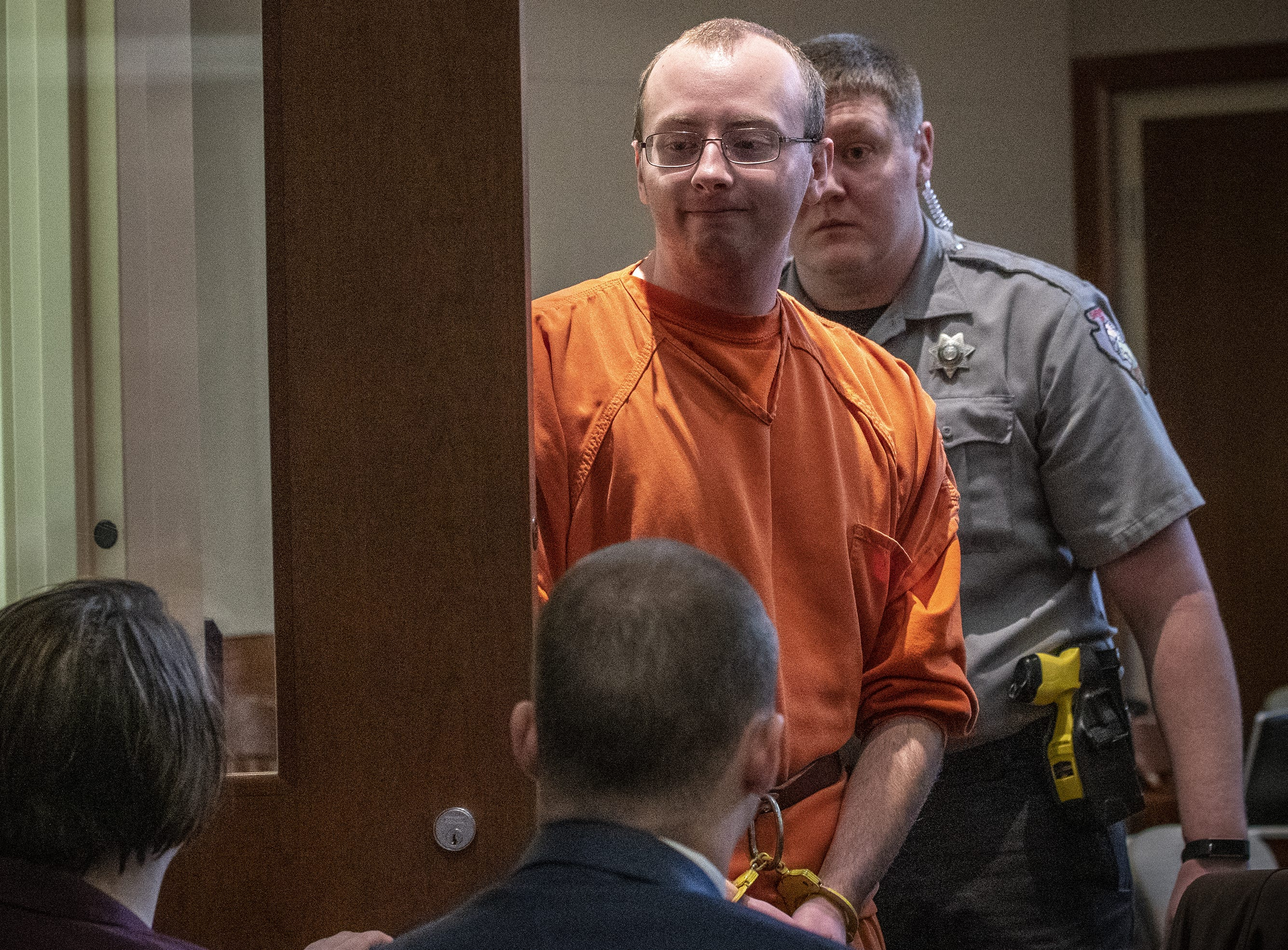 Accused Jayme Closs kidnapper Jake Patterson appears in court, waives preliminary hearing