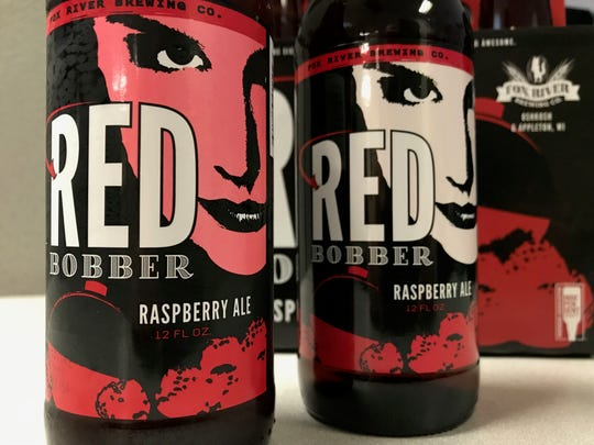Fox River Brewing Co. released its latest beer, Red Bobber, with a color changing label on the bottle. The face on the label is pinkish-red when cold, white when warm.