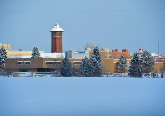 Great Falls Tribune building.