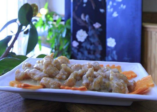 The honey walnut chicken at Chinatown Restaurant.