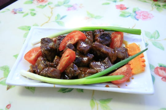 It's the year of the pig so why not some sweet and sour spareribs at the Chinatown Restaurant?