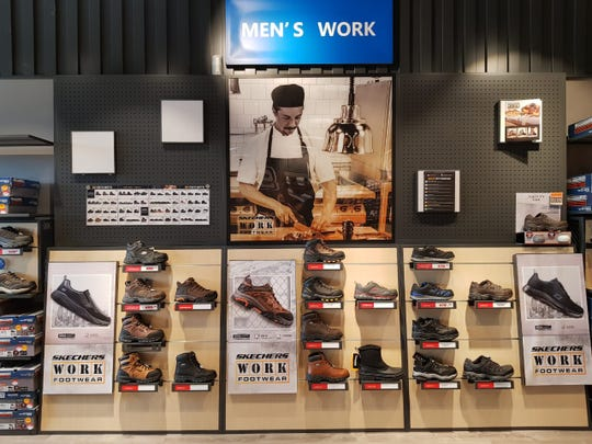 Skechers at Century Plaza aims to provide shoes for restaurant and construction workers alike.