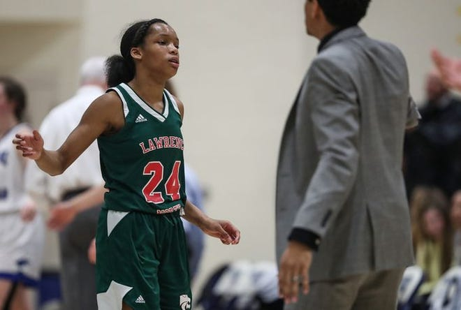 Jayla Smith of Lawrence North was named all-county by the MCCGSA.