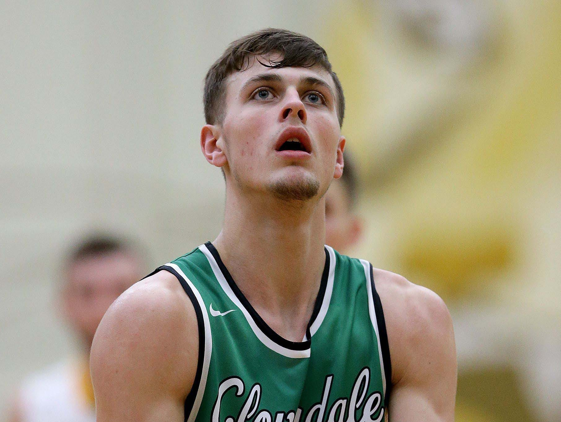 Cooper Neese of Cloverdale had an impressive high school scoring career with 2,496 when he left the Clovers in 2017.