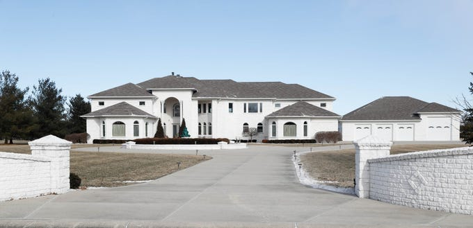 A bright and airy Greenwood home is up for sale at 1216 Stone Ridge Court, Greenwood, Ind. on Wednesday, Jan. 30, 2019. The home features 8,234 square feet, four bedrooms, two master suits, a 10 car garage, and exercise room.