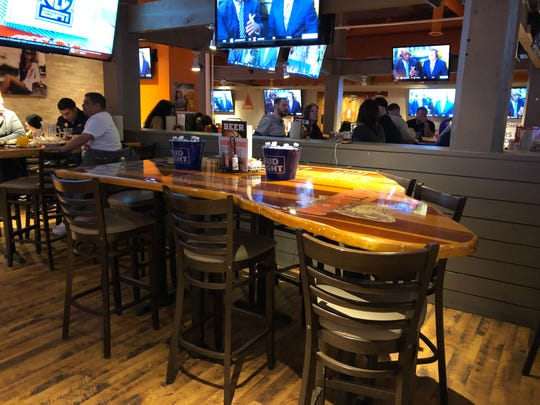The Hooters on Georgia Street reserved a table for former Pacers guard Lance Stephenson after he invited Indianapolis to join him following the game Tuesday.