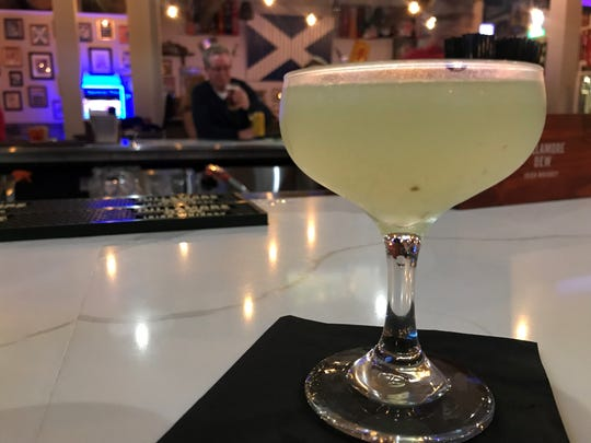 The Southsider cocktail at Campbell's Highland Grille in Greenwood blends mint, lemon and Terra Botanical Gin from Cardinal Spirits in Bloomington.