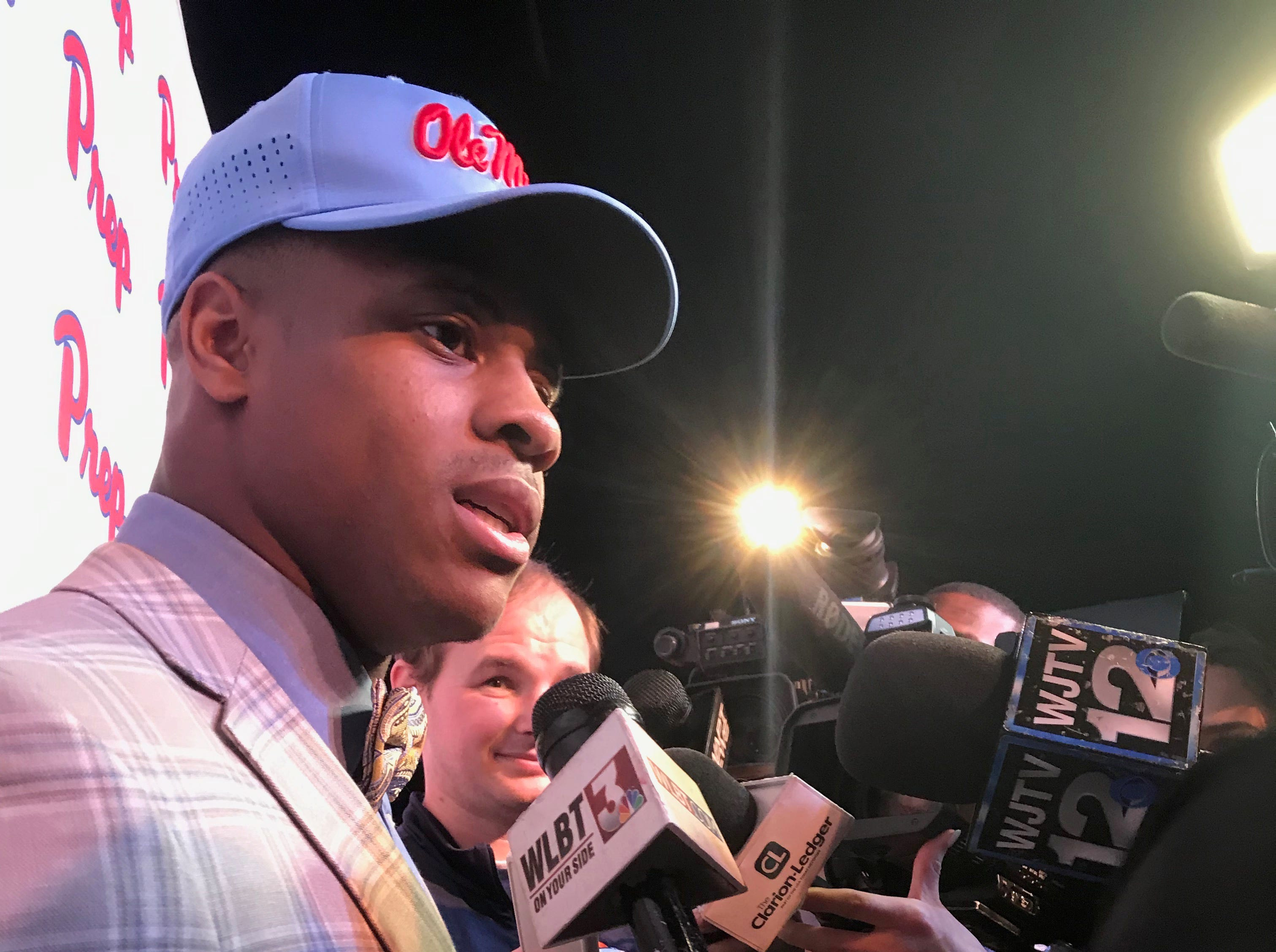 Jackson Prep 5-star running back and two-sport standout Jerrion Ealy signed with Ole Miss on Wednesday, giving the Rebels a huge recruiting boost. Wednesday, Feb, 6, 2019.