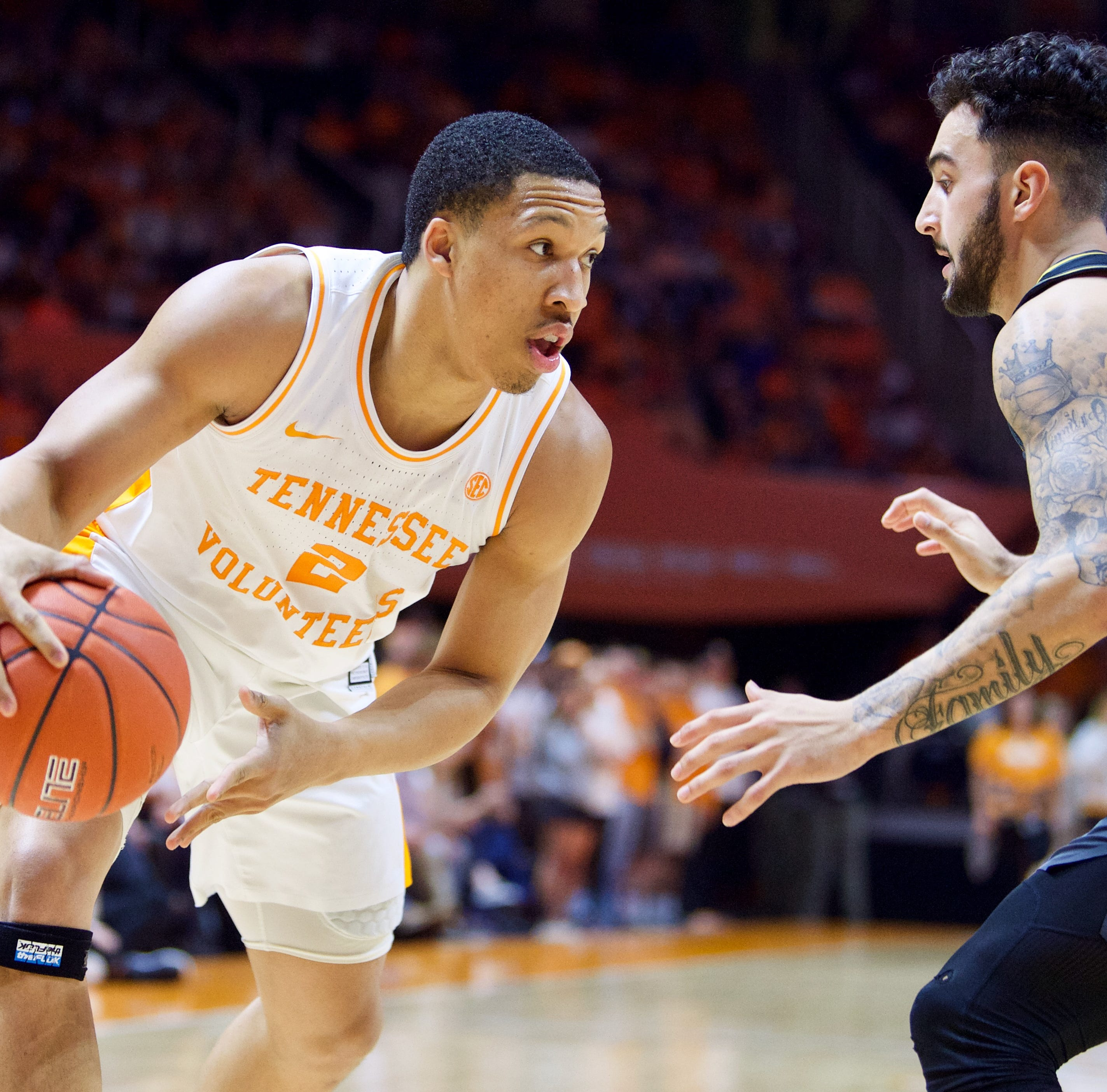 Grant Williams repeats as SEC player of the year to lead Tennessee basketball honors